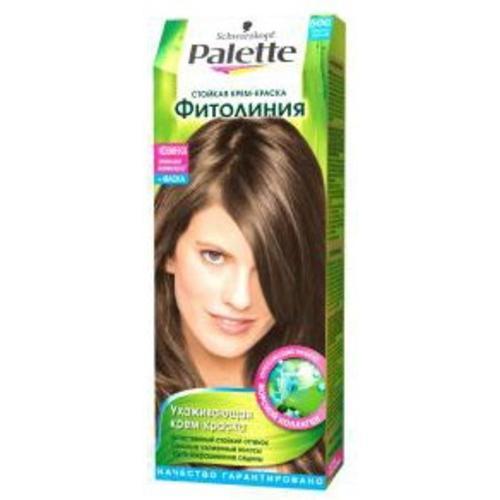 Все цвета краски для волос палет фитолиния